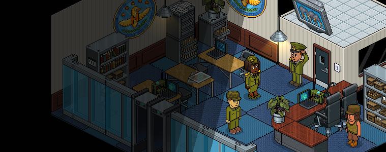 Habbo Kuvvetleri Karargah Oda Paketi Geri Döndü!